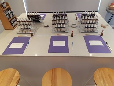 All ready for the only Natural Perfumery Workshop available in Australia, taught by a fully qualified perfumer